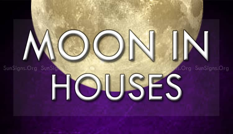 moon in houses stands for emotions