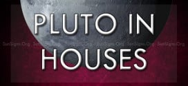 pluto in the houses
