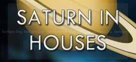 saturn in the houses
