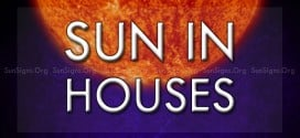 sun in the houses