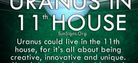 You pride yourself in the 11th house of being unusual, of going against the grain to avoid being boring. Uranus takes this to a whole other level, making you feel superior to those more mainstream. Be careful not to alienate yourself too much, for you need people to brainstorm ideas