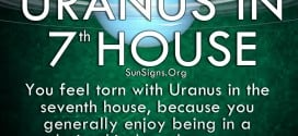 You feel torn with Uranus in seventh house, because you generally enjoy being in a relationship
