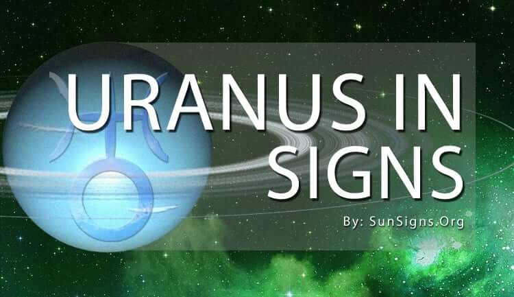 the uranus in signs