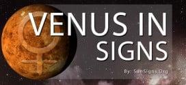 venus in signs