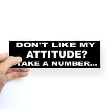 attitude number