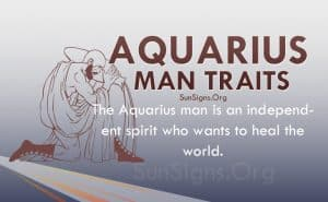 aquarius man traits