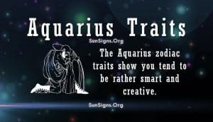 aquarius personality Traits