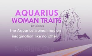 aquarius woman traits