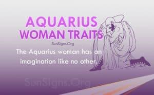 aquarius woman traits
