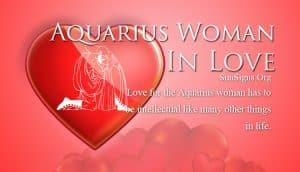 aquarius woman in love