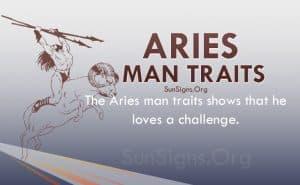 aries man traits