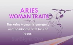 aries woman traits