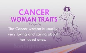 cancer woman traits
