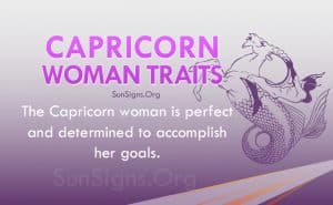 capricorn woman traits