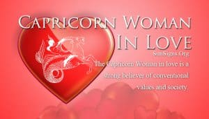 capricorn woman in love