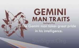 gemini man traits