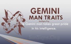 gemini man traits