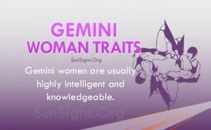 gemini woman traits