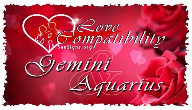gemini aquarius