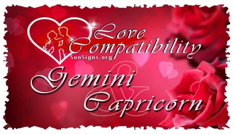 gemini capricorn