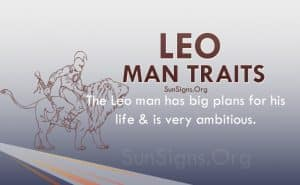 leo man traits