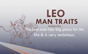 leo man traits