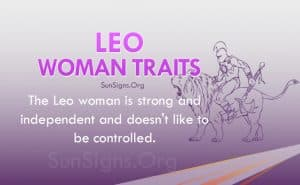 leo woman traits