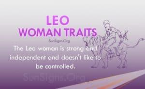 leo woman traits