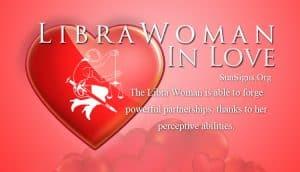 libra woman in love