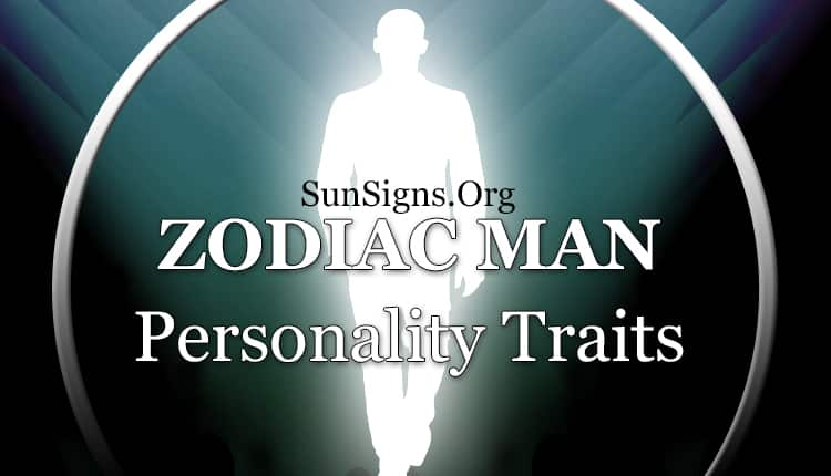 zodiac man personality traits