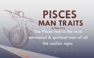 pisces man traits