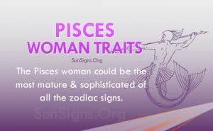 pisces woman traits