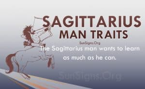 sagittarius man traits