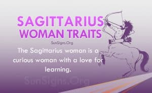 sagittarius woman traits