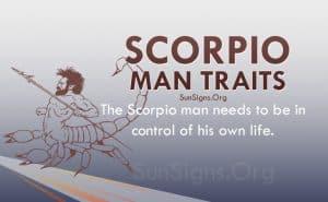scorpio man traits