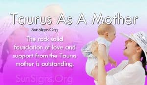 taurus mother