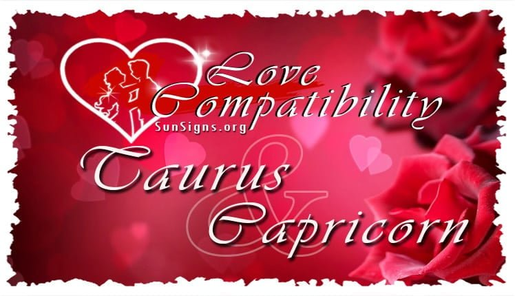 taurus capricorn
