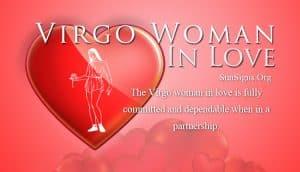 virgo woman in love