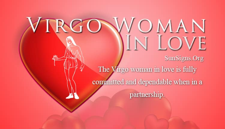 virgo woman in love