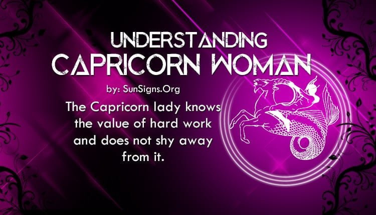 understanding capricorn woman