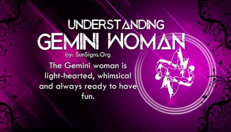 understanding gemin woman