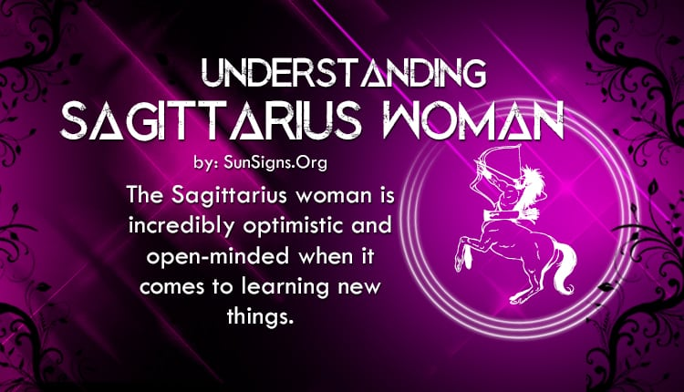 understanding sagittarius woman