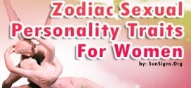 Zodiac Sexuality Personality Traits For Women