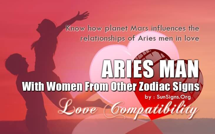 compatible signs for aries girl