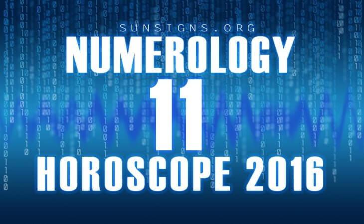 11 numerology horoscope 2016