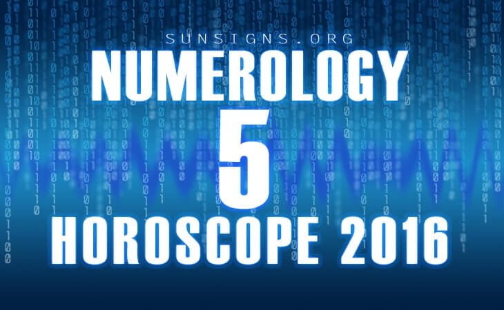 5 numerology horoscope 2016