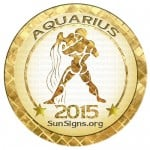 2015 Aquarius Horoscope