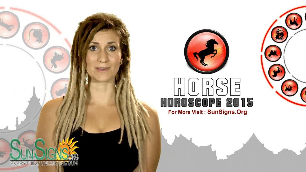 horse 2015 horoscope