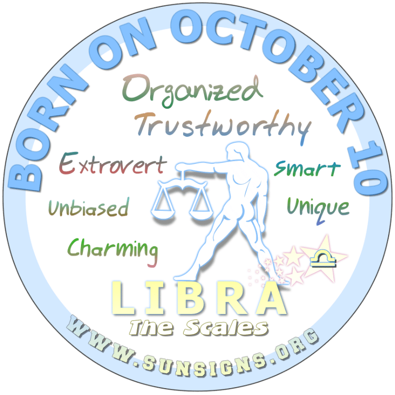 October 10 Birthday Horoscope Personality