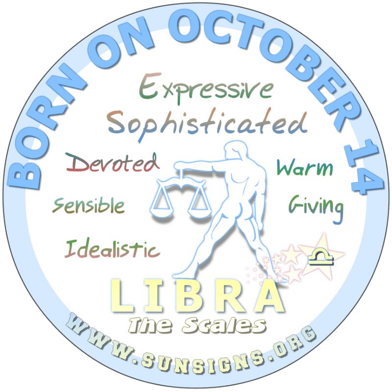 October 14 Birthday Horoscope Personality